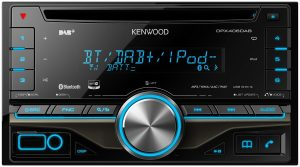 Kenwood DPX406DAB Doppel-DIN DAB Receiver